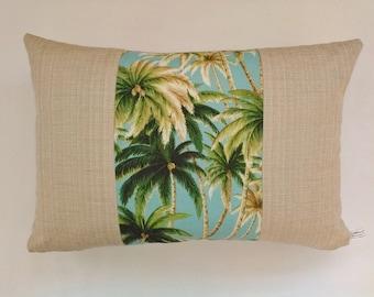 Indoor Cushion - Palm Tree Grove