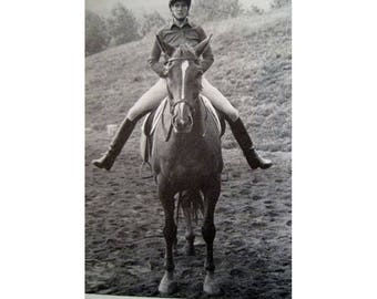 Centered Riding Vintage Equestrian Riding Book 1st Edition 1985 - Horse Book - Horse Riding - Equestrian Book