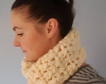 Chunky Cowl Scarf - made to order