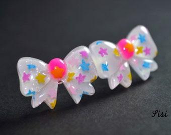 Stud earrings kawaii stars node