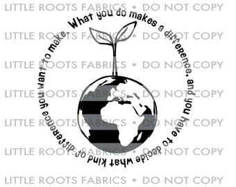Make a difference Seedling- Digital Cut File