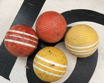 They Are More Like Giant Skittles Than Beat Up Vintage Croquet Balls