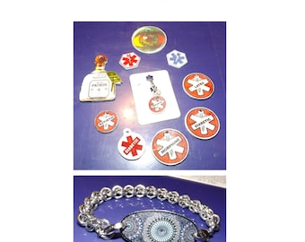 Learn to make Charms, Tags, Pendants, ID Plates and more.