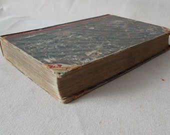 1840 Godey's Lady's Book and Ladies' American Magazine Antique Book