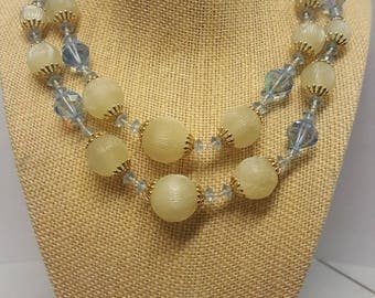 Vendome Crystal Multi Strand Vintage Choker/Necklace