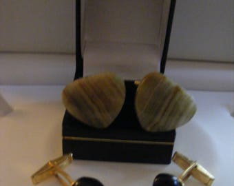 Two Pairs Of Vintage Cufflinks