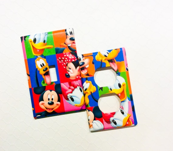 Mickey Mouse Bedroom Mickey Light Switch Cover Mickey Switch