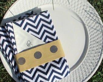 4pk Cloth Napkins - Cotton