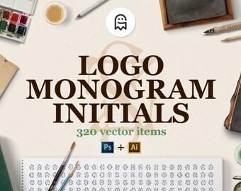 Logo-Monogramm-Initialen