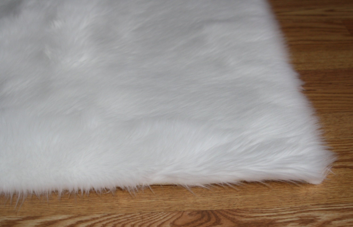 product fur rug x white ivory chairish