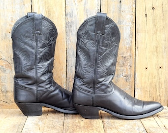 cowboy boots, leather boots, justin boots, western boots, festival wear, boho boots, 80s boots, 90s boots,
