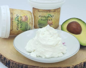 Avocado Butter, Raw Butter, Bath Supplies, Soap Making Supplies, Bulk Oils