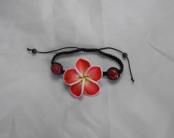 Shamballa red tiare flower