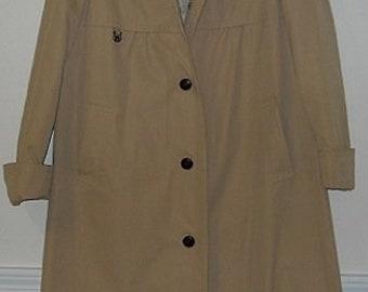 Vintage Etienne Aigner Trench Coat