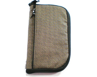 iPod Case, iPhone Cell Phone Case, Smartphone Phone, Brown and Black Check