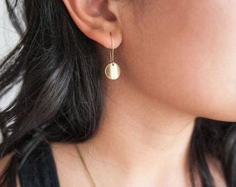 Cute Simple Drop Earrings // Modern Boho Jewelry // LESS is MORE // Earrings // Simple Dangle Earrings // Lead Free Nickel Free Earrings