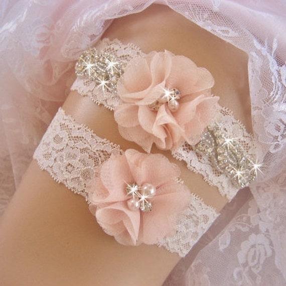 Wedding Garter / Rhinestone Garter / Crystal Garter / Toss