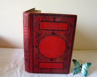 French Vintage Books, circa 1895, Mon Oncle d'Amerique, J Colomb, Hardbook