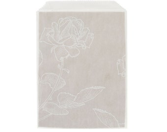 White Glassine Paper Bags, Treat Bags, Candy Bags, Sweet Bags, Favour Bags, Favor Bags, Gift Bags, Wedding Decorations, Party Bags, Paper