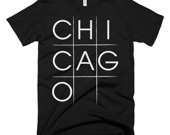 Chicago Tic-tac-toe T-shirt
