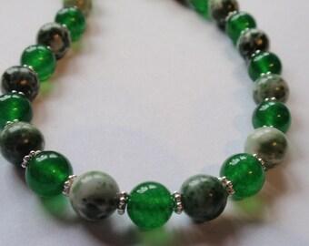 Jade Necklace  (JK 667)