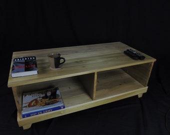Modern Coffee Table in Solid Poplar