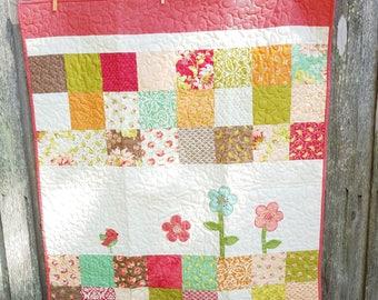 A little Birdie - quilt