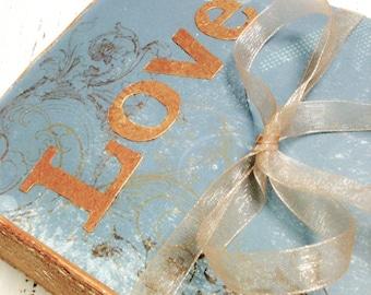 Something Blue, Copper Gold Wedding, Ring Bearer Pillow, Ring Pillow, Save the Date, Wedding Ring Pillow, Proposal, RingKissen, Ring Cushion