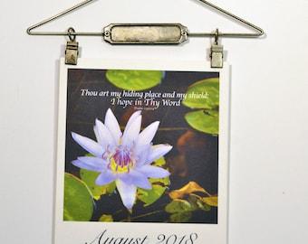 Bible Verse 2018 Hanging Calendar