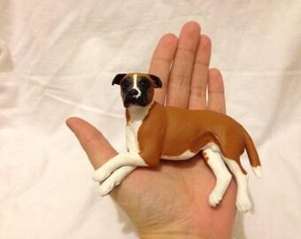 ON SALE Custom Pet Portrait Clay Commission OOAK Handmade Rabbit/Dog etc just sculpture memorial