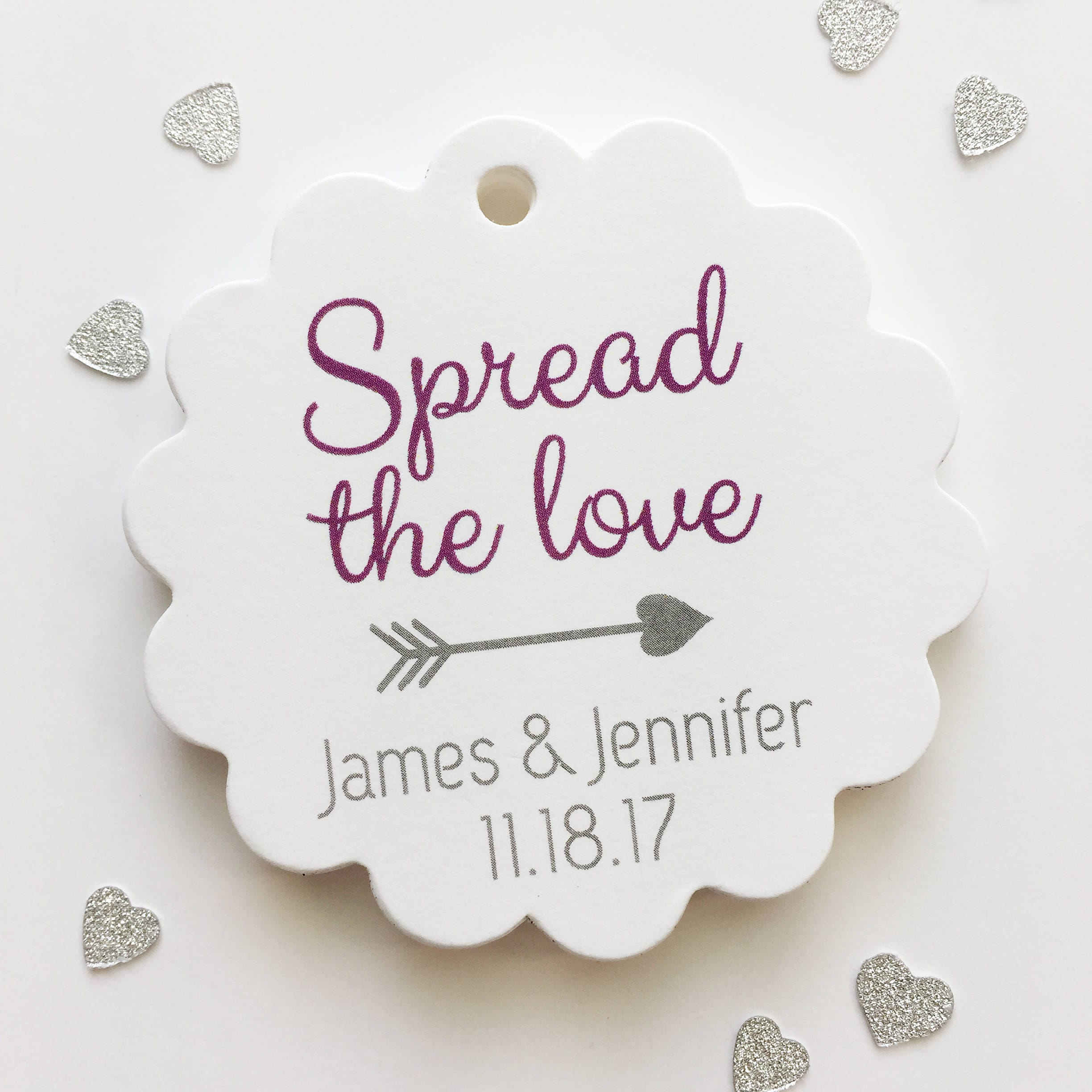 Enchanting Spread The Love Jam Wedding Favors Component - The ...