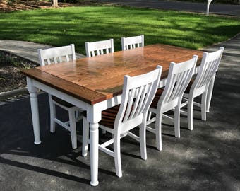 The Traditional Farmhouse Dining Table