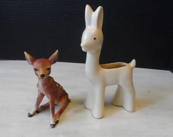 Vintage Deer Figurines   1533