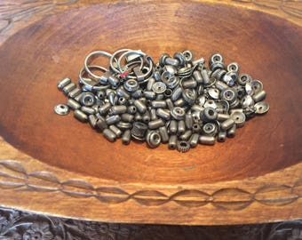 Old antique misc. beads ~ not sterling.