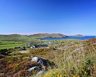 Ireland, Irish, Wild Atlantic Way, Beara Peninsula, Copper Mining, Heather, Wild Flowers, Mountains, Sea, Allihies, Butte, Montana, Village
