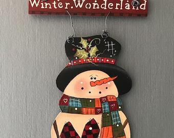 Winter Wonderland, Laurie Speltz, snowman, heart, scarf, carrot, patchwork, ivy, free shipping