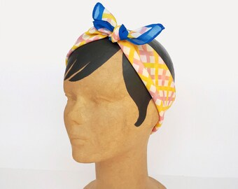 Lightweight scarf, Neck scarf for women, Gift for fashionistas, Summer scarf, Neckerchief, Chiffon, Kerchief, Bandana by Olula, Spring scarf