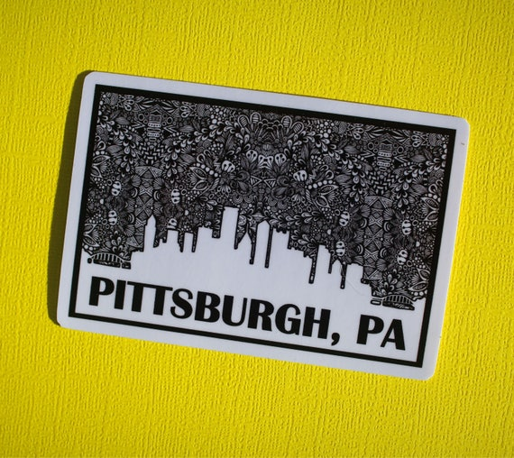 Pittsburgh, PA Sticker