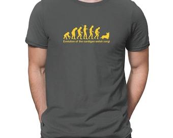EVOLUTION OF THE Cardigan Welsh Corgi T-Shirt