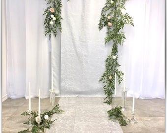 Garland, wedding decoration, arch decor.03