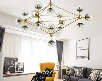 Galaxy Led Pendant Chandelier