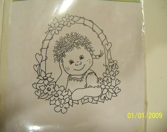 Bildmalarna unmounted rubber stamp: Tossa-windows