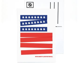 A Flag For All postcards