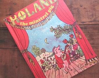 Roland The Minstrel Pig by William Steig Children's Picture Book