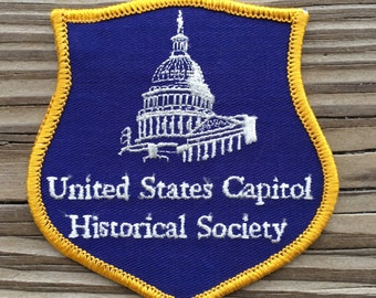 United States Capitol Historical Society Souvenir Patch