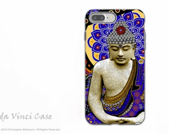 Colorful Buddha iPhone 7 Plus - 8 Plus Case - Dual Layer Protective Apple iPhone 7 Plus / 8 Plus Cover - Buddhist Art - Rhythm of My Mind