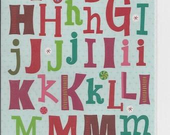 Marcella by K ~ K & Company ~ Alphabet Stickers ~ NIP