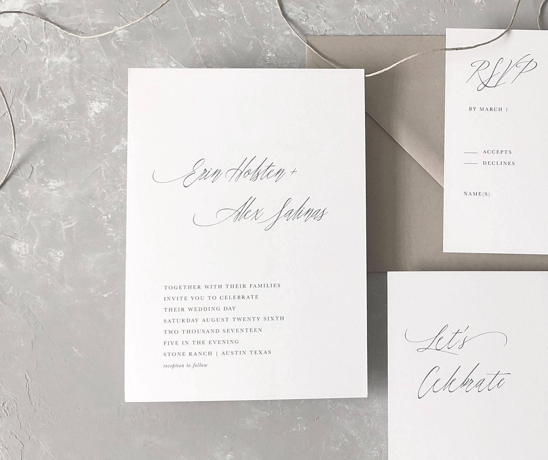 Niedlich Rustikale Hochzeitseinladungen Vorlagen Fotos - Beispiel ...