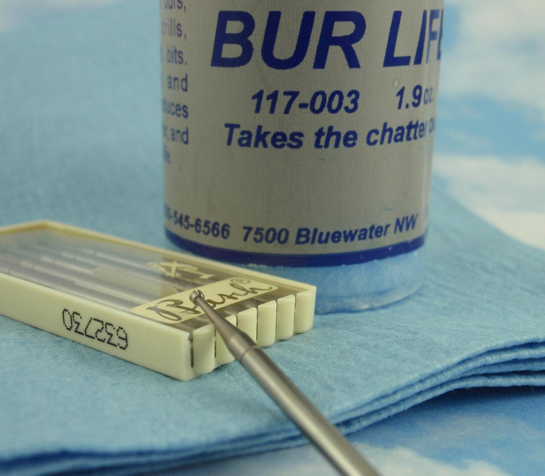 Burr Cup Kit - Deburr 16 gauge through 26 gauge Wire - Includes Bur ...