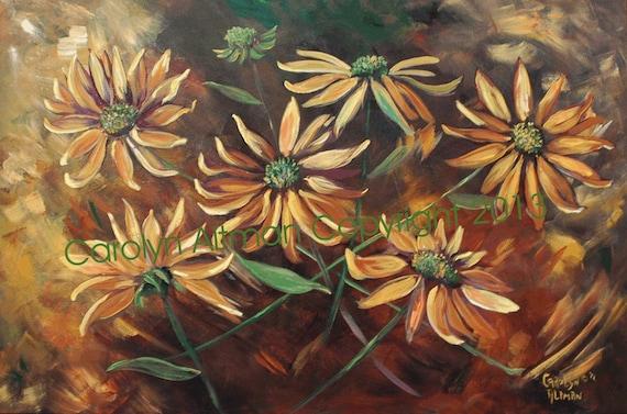 Sunflower Delight Canvas Art Print